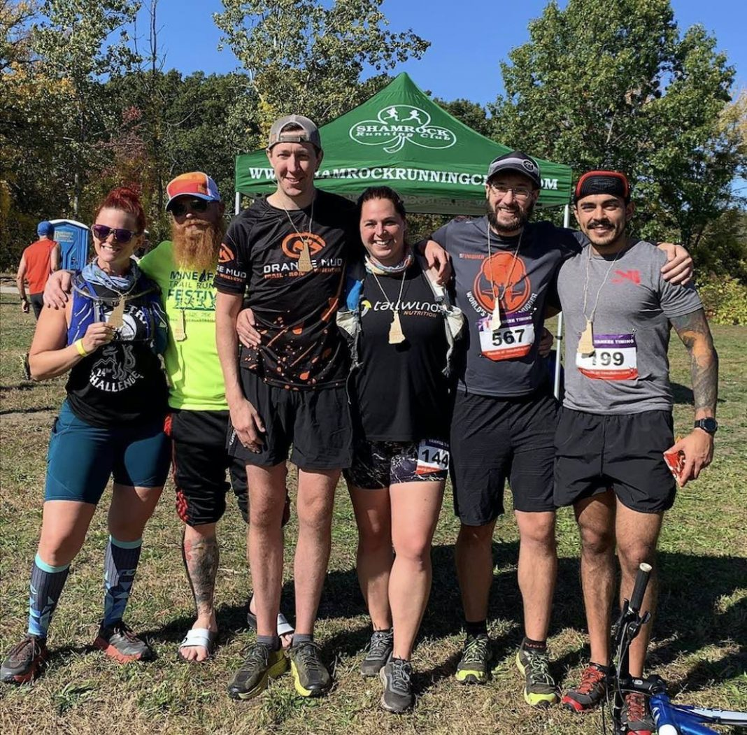 Mine Falls Trail Running Festival with Escobar, Chace, and Hooper