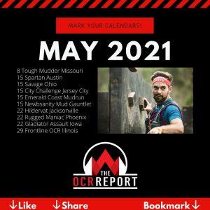 OCR Events Calendar May 2021